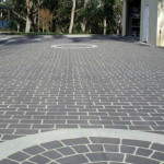 Stenciled Concrete