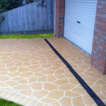 Spray On Concrete Paving