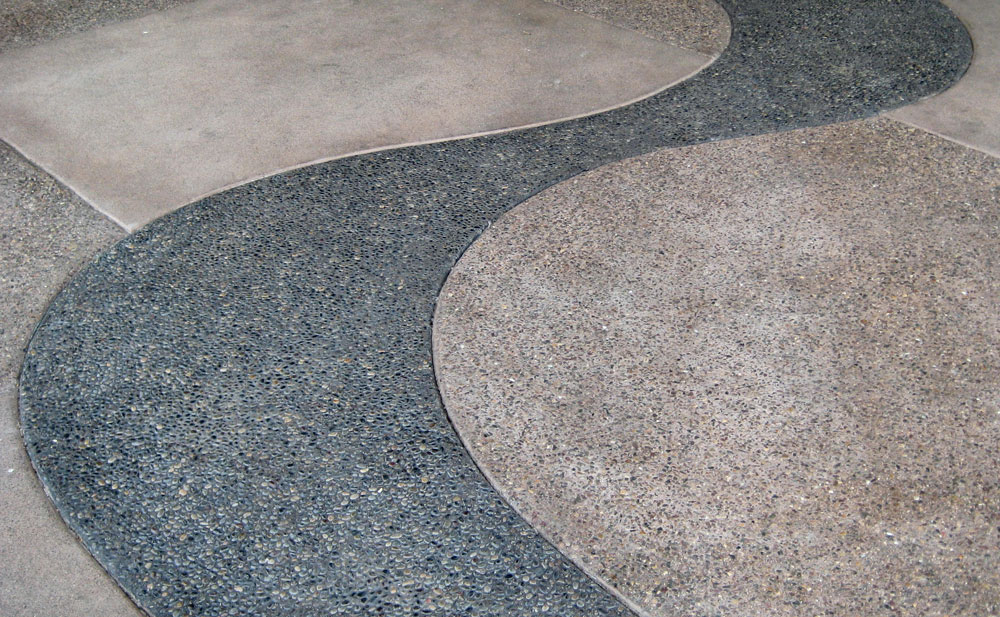 Exposed Aggregate Gallery Uniqe Paving