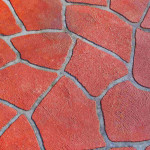 Stenciled Concrete Driveways Australia