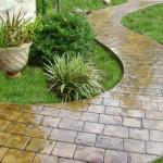 Slate Impression Concrete Driveways